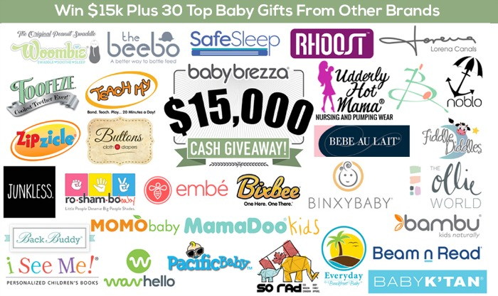 Baby Brezza Children's Giveaway – Featuring 30 Baby Gifts!