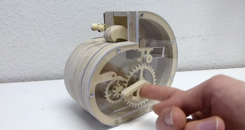 How To Make A Mechanical Snail Coin Bank The Kid Should