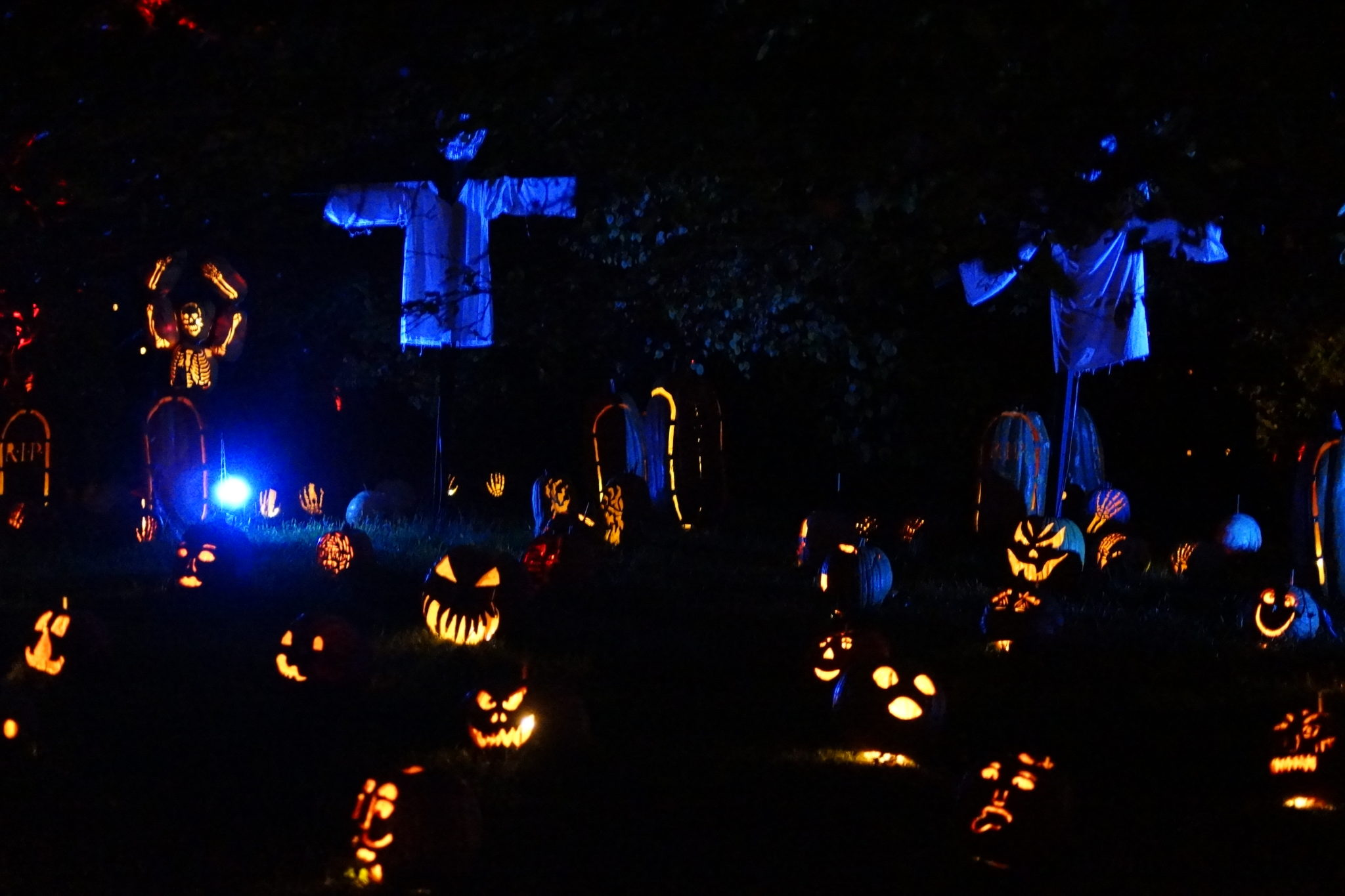 The Great Jack O'Lantern Blaze Upstate New York Hudson Valley