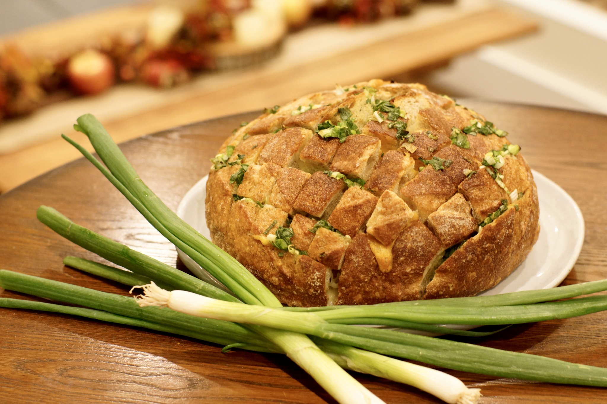 Recipe: Bloomin' Onion Bread Bowl with Cheese