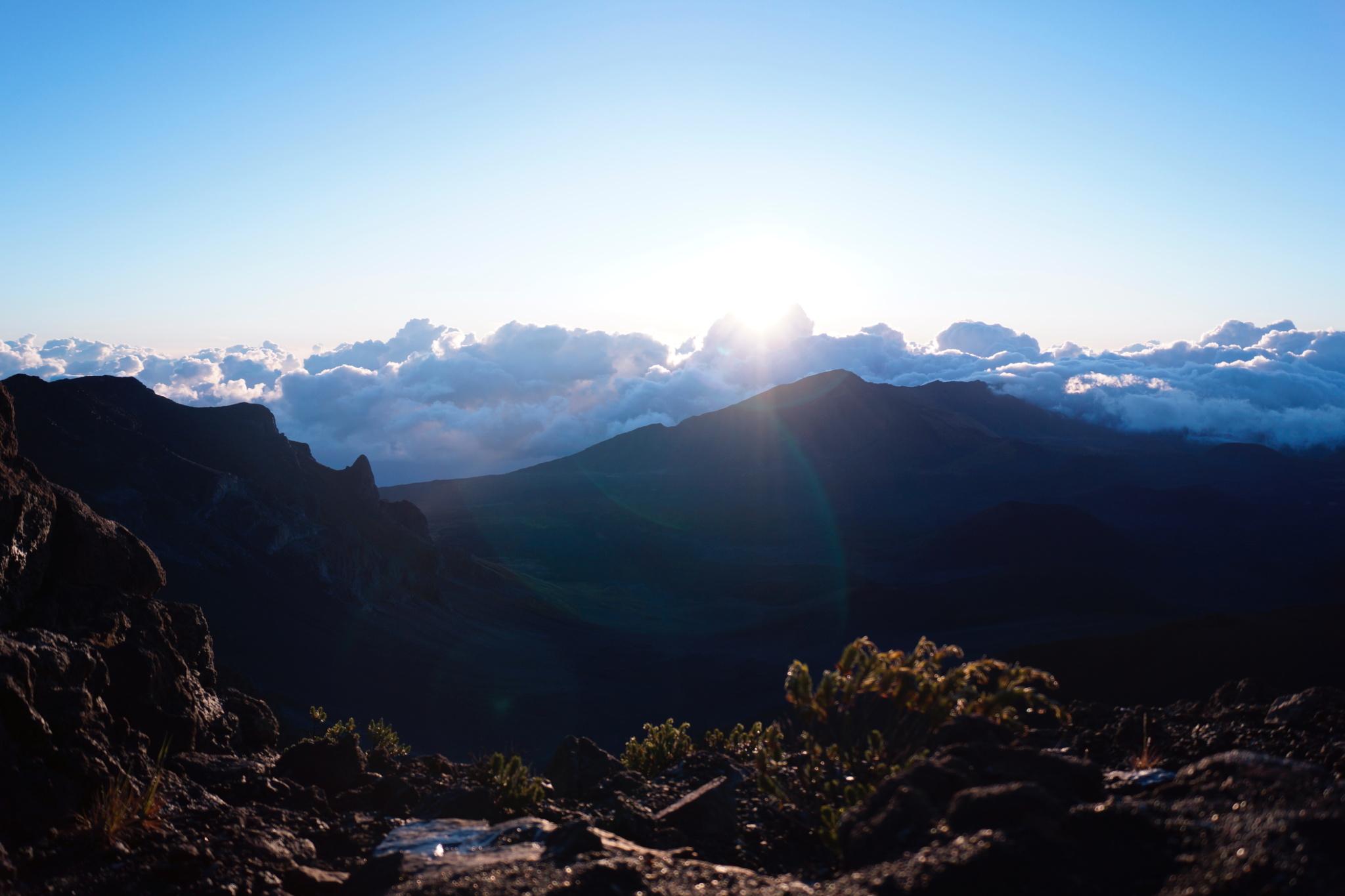Haleakala Sunrise - Haleakalā Sunrise - Haleakala National Park - Haleakalā National Park - Haleakalā Summit Sunrise - Hawaii - Maui - Summer - Killer Travel - Killer Look Travels - TheKillerLook.com - The Killer Look