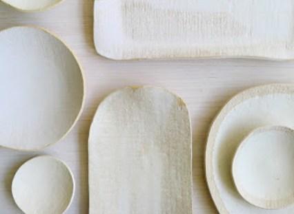 Cloud white ceramics by Elephant Ceramic