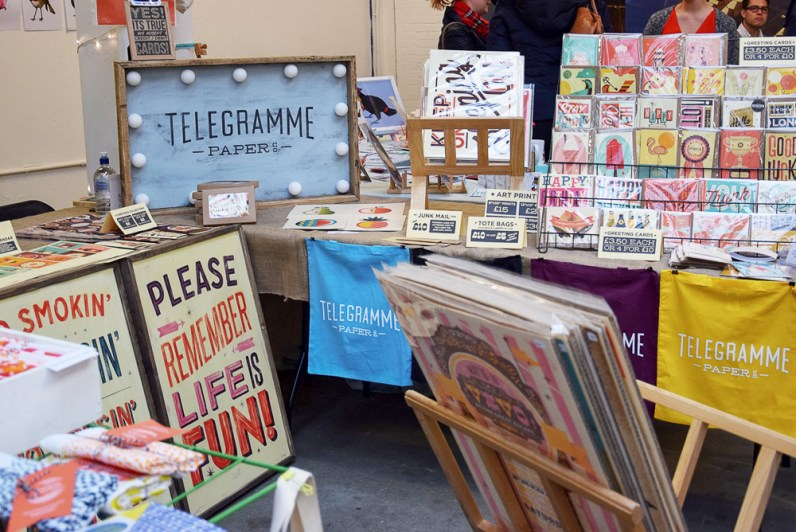 Telegramme Paper Co. at London Renegade