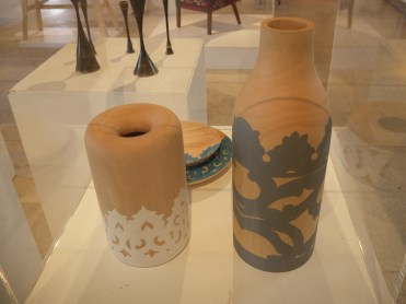 Toong Collection mango wood tableware by Craig Anczelowitz + United Arts at CMDW14