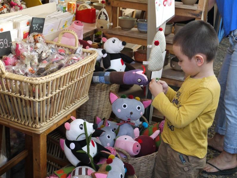 NookNook soft toys at Pop Market, CMDW14