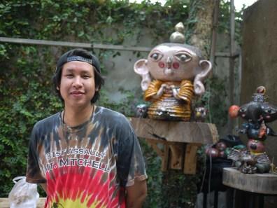 Joong-Jing at NAP Fair Chiang Mai