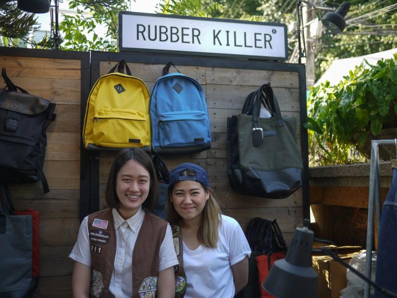 Rubber Killer at NAP Fair Chiang Mai