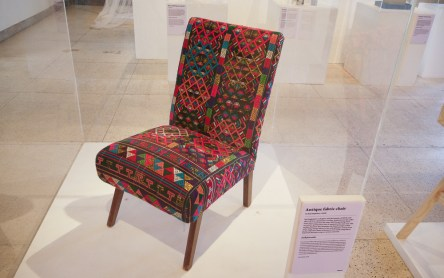 Antique fabric chair by Roj Singhakul + ISSUE at CMDW14