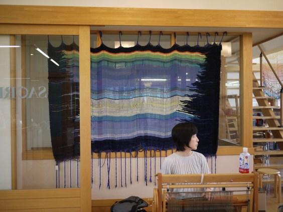 the Saori studio, photo by Lauren K. Lancy