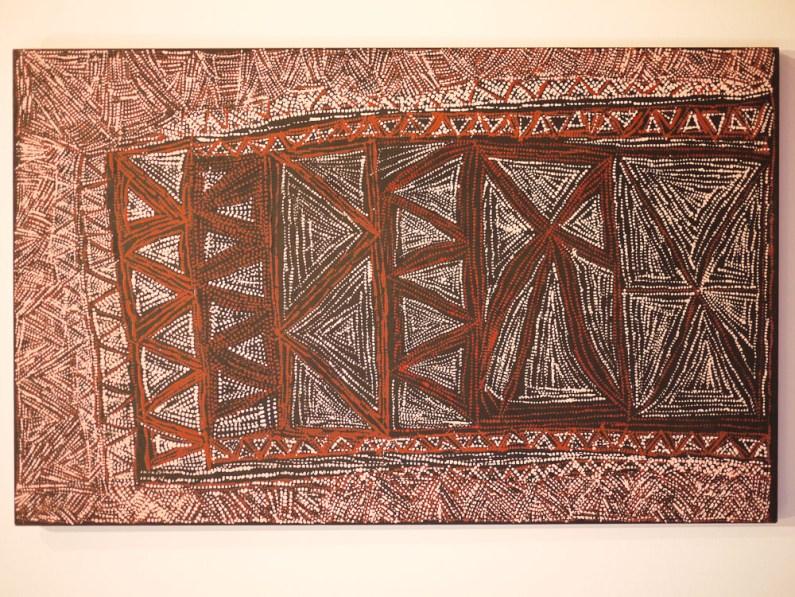 Jilamara design by Cornelia Tipuamantumirri at NGV