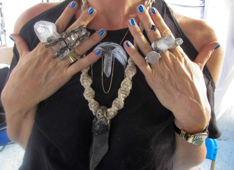 Adina Mills at Renegade New York