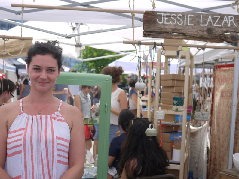 Jessie Lazar at Renegade Craft Fair, Brooklyn 2015