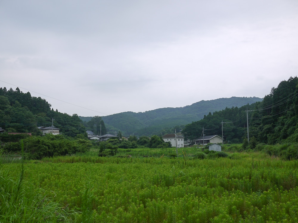 Mashiko, Japan in July, 2016