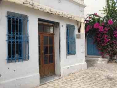 Tunisia — Djerba Street Scene —Door