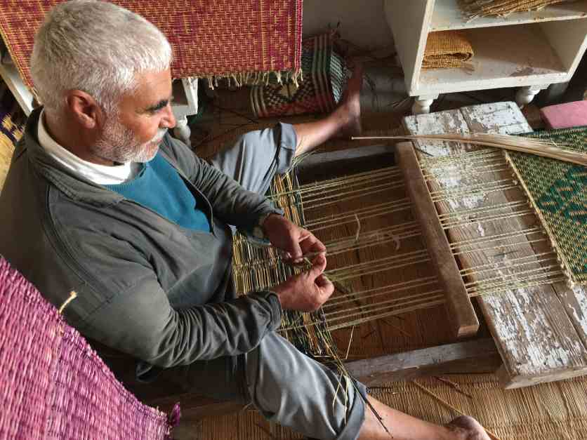 Tunisian Basketry — Loom