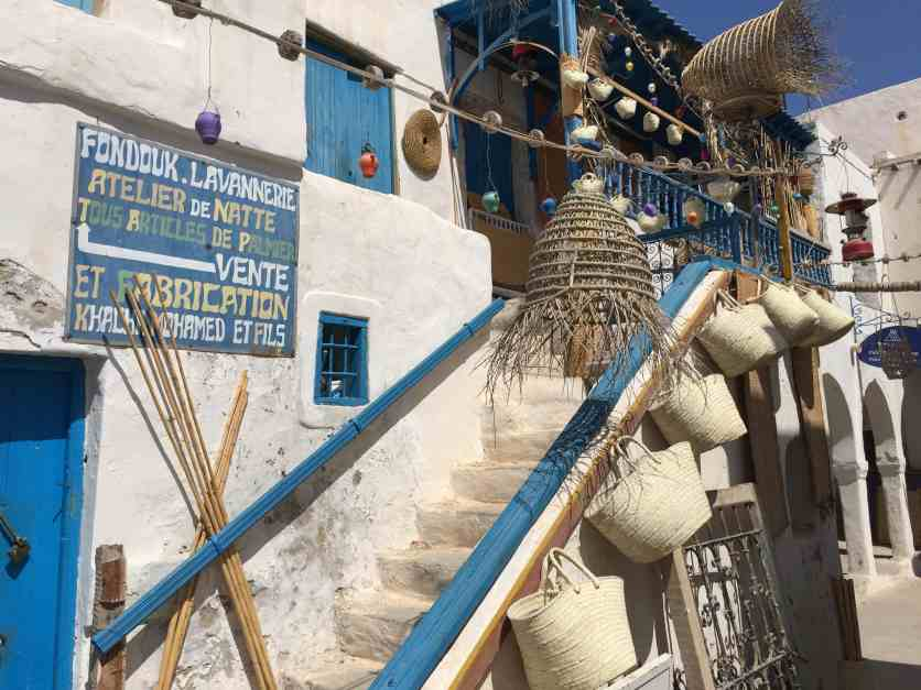 Tunisian Basketry — Atelier Entrance