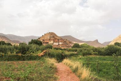 The village of Ixf N'Ighir in the High Atlas