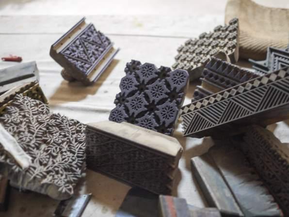 Bagru Wood Blocks