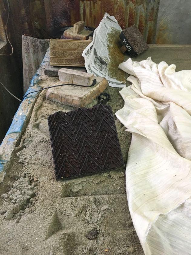 Wood block – Handmade Textiles of Bangladesh