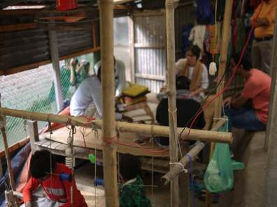 Jamdani weaving workshop – Handmade Textiles of Bangladesh