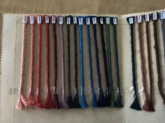 Aranya's natural dye palette – Handmade Textiles of Bangladesh
