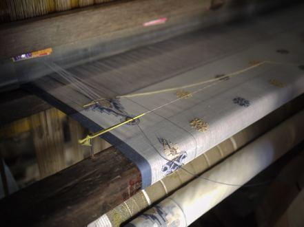 Loom inside Weaving factory in Sirajganj – Handmade Textiles of Bangladesh