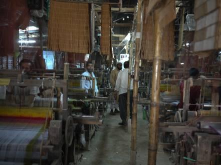 Inside Weaving factory in Sirajganj – Handmade Textiles of Bangladesh