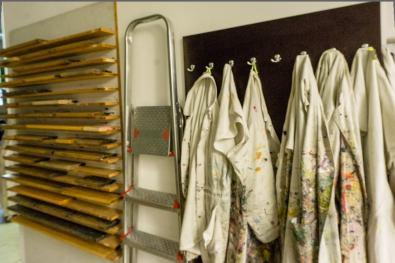 Organic Prints — Natural Dye Silk Screen Lab