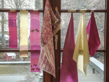 Organic Prints — Sample Dyes