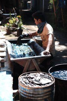 Indigo Dyeing — Indonesian Batik