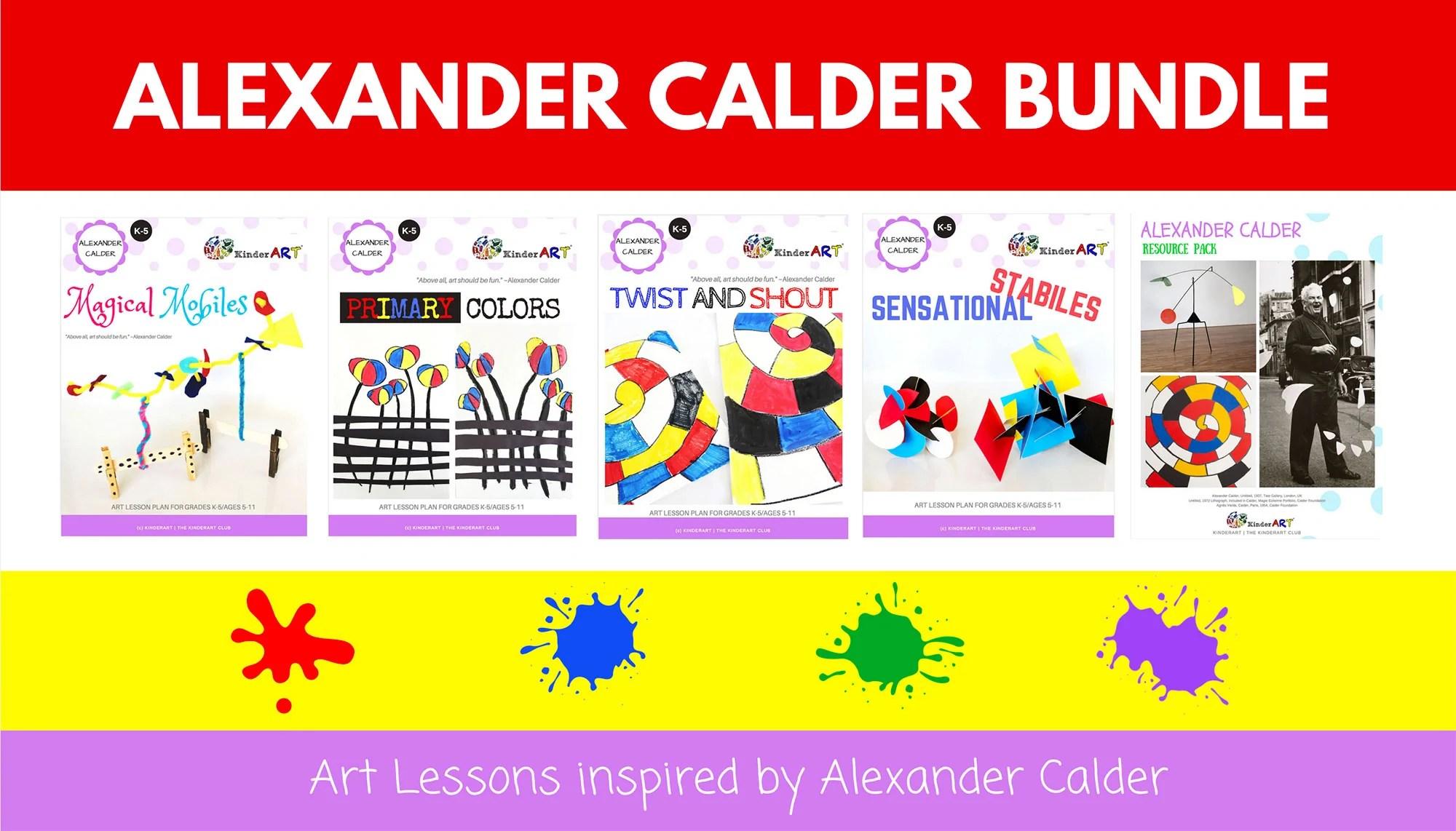 Alexander Calder Pack