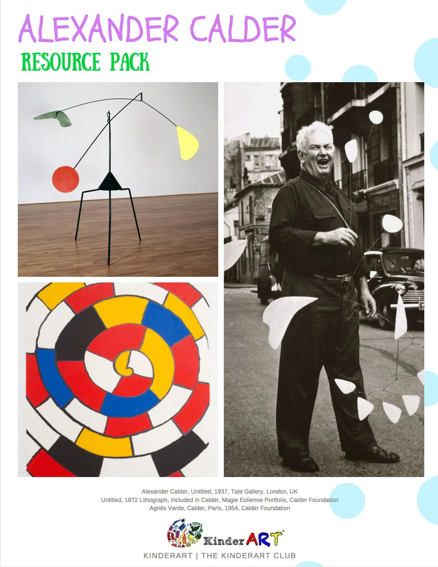 Bio Alexander Calder
