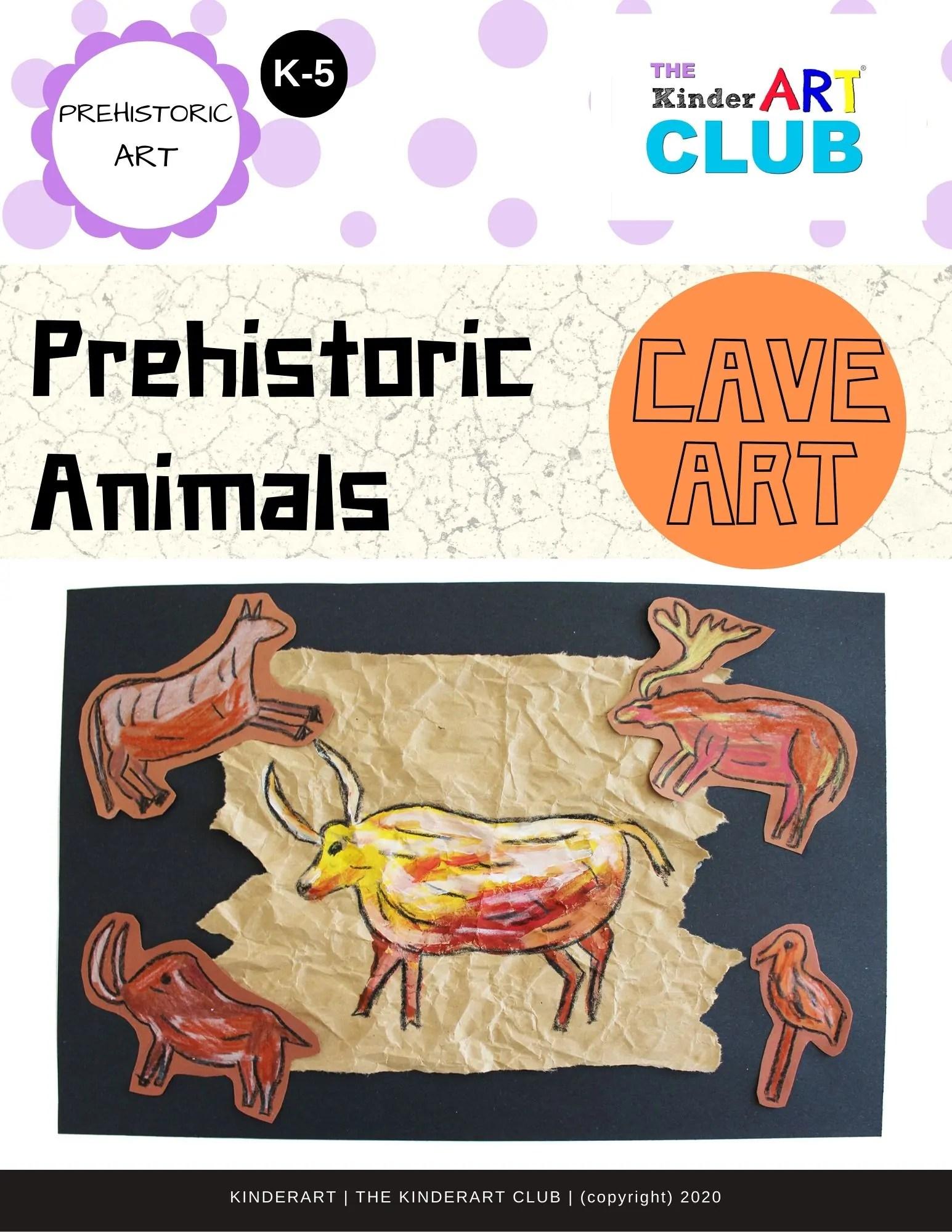 Lesson Prehistoric Animals Cave Art