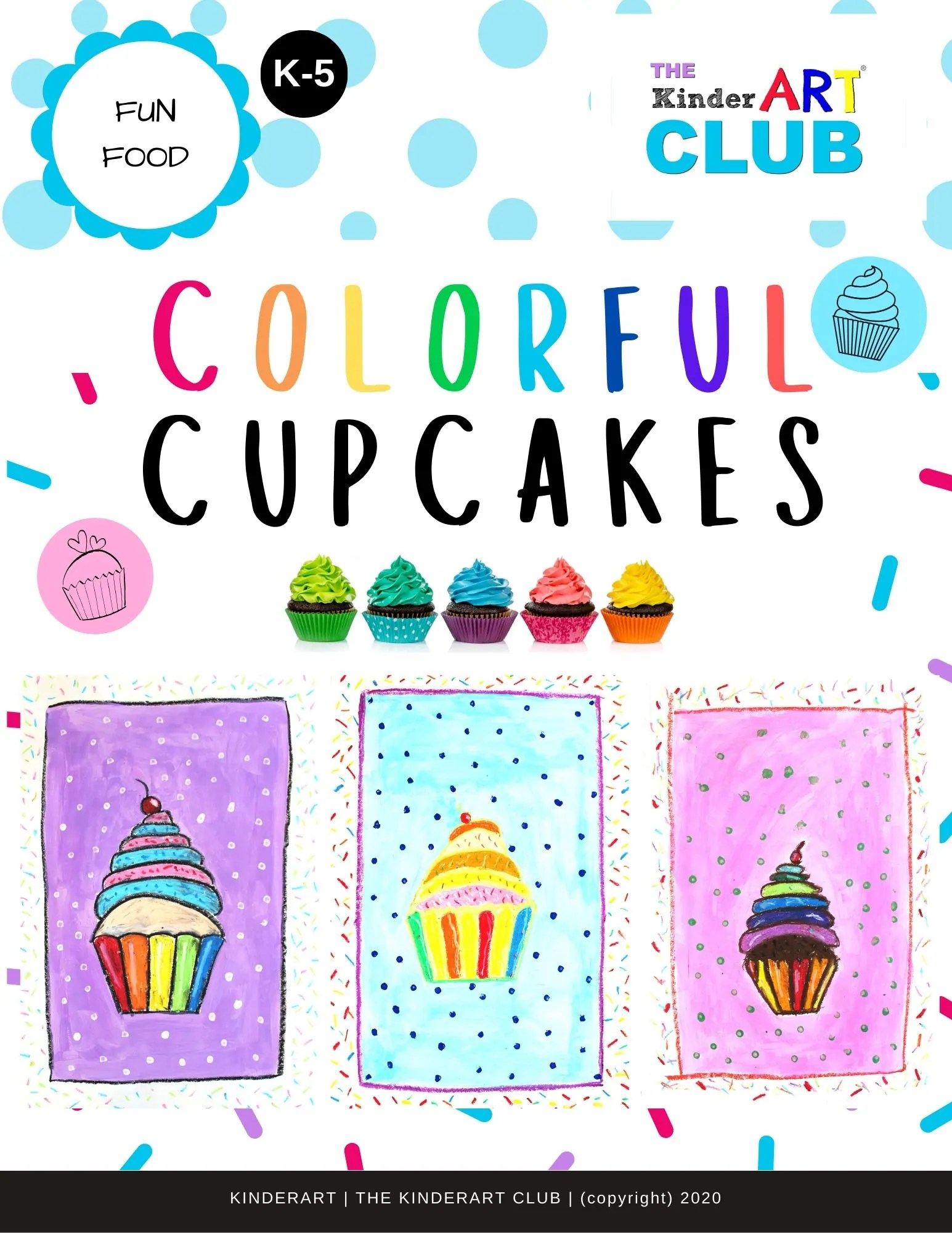 Lesson Colorful Cupcakes