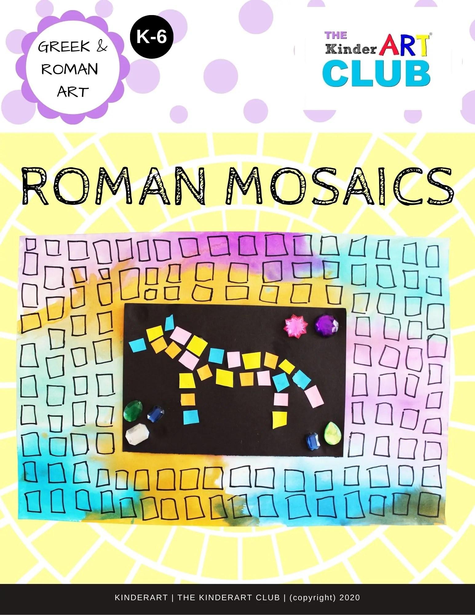 Lesson Roman Mosaics