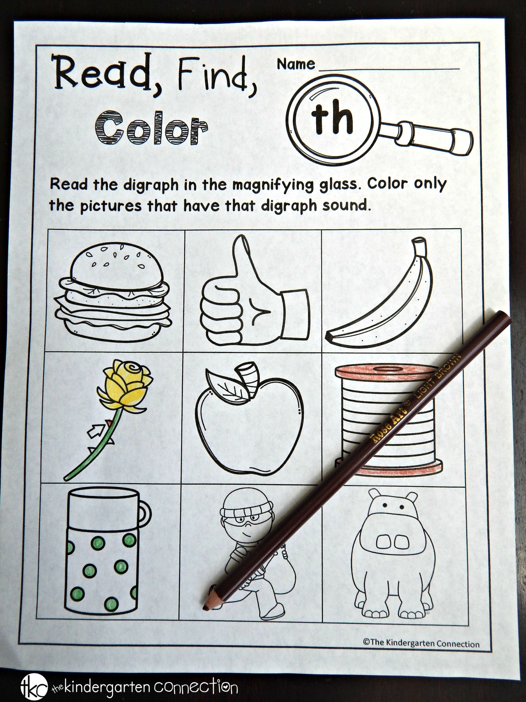 50 Free Printable Th Digraph Worksheets