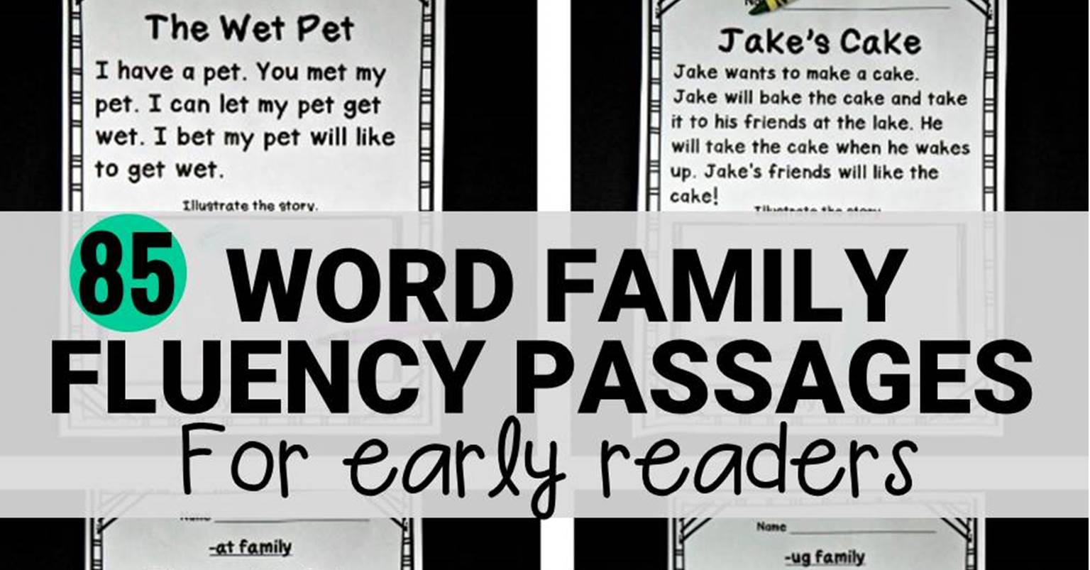Fluency Passages For Early Readers