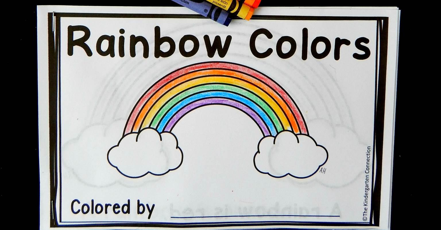 Rainbow Emergent Reader