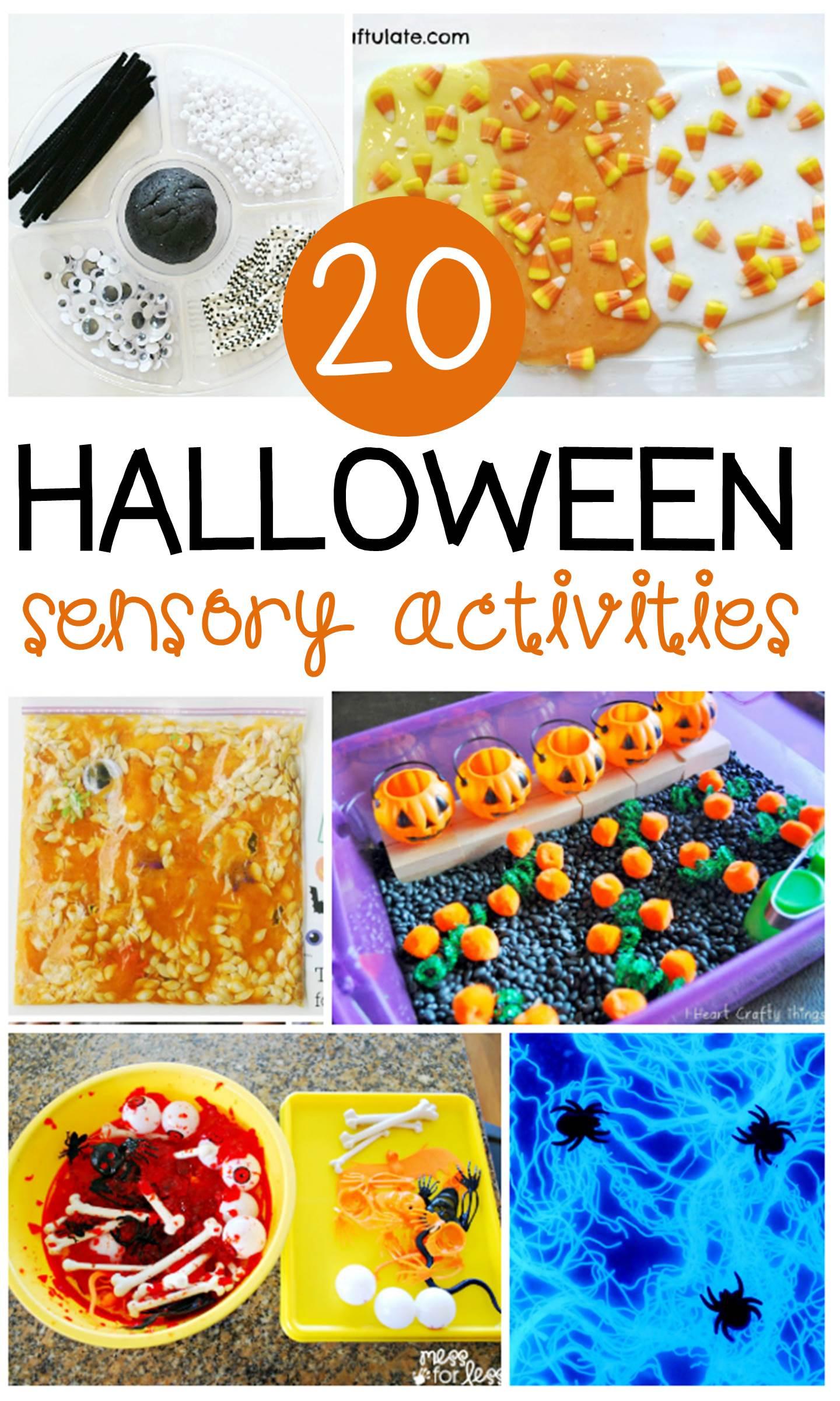 20 Halloween Sensory Activities