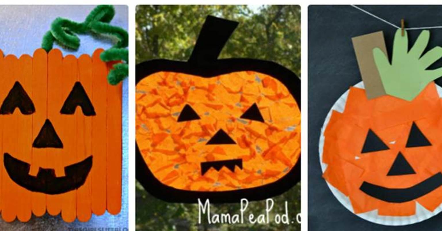 21 Adorable Pumpkin Crafts For Kids