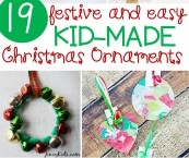 Christmas Ornaments Made By Kids