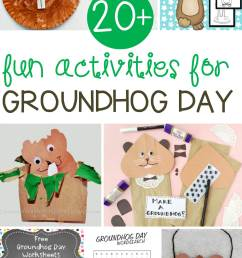 Fun Groundhog Day Activities for Kids - Learn \u0026 Celebrate! [ 2400 x 1440 Pixel ]