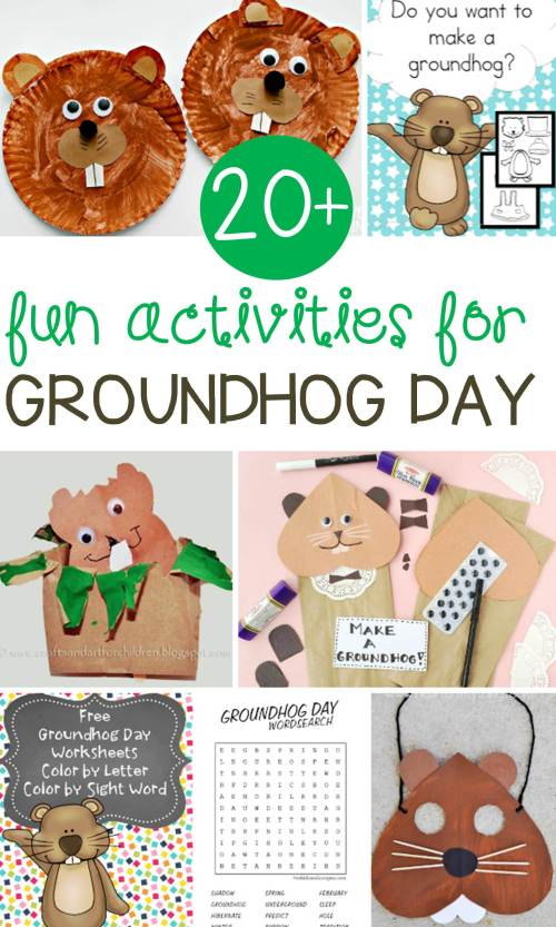 small resolution of Fun Groundhog Day Activities for Kids - Learn \u0026 Celebrate!