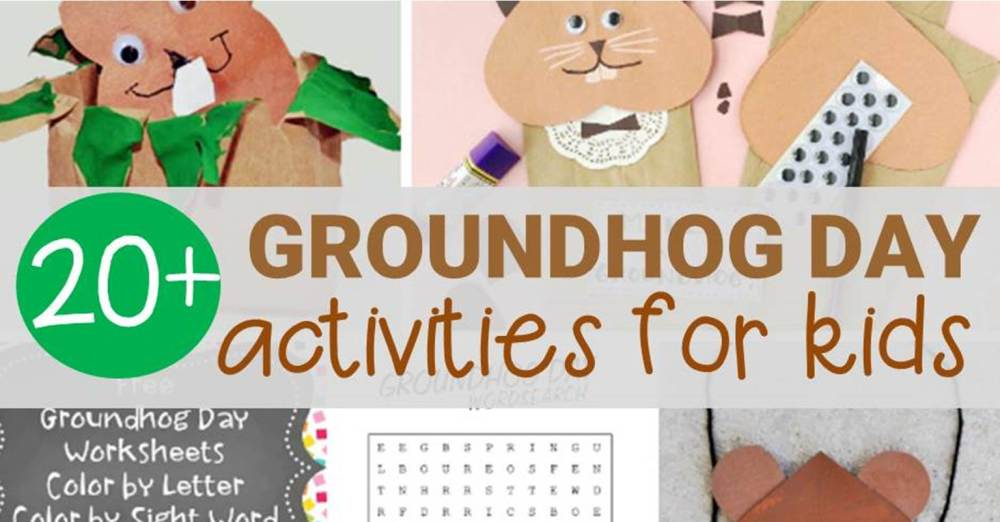 medium resolution of Fun Groundhog Day Activities for Kids - Learn \u0026 Celebrate!