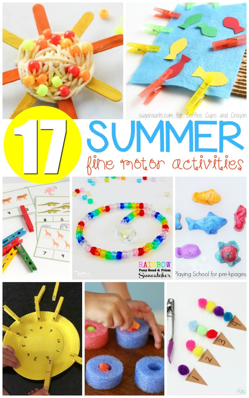 foto de Activities To Improve Fine Motor Skills In Kindergarten simplexstyle com