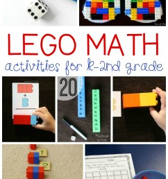 Totally Awesome Lego Math Activities [ 1500 x 800 Pixel ]