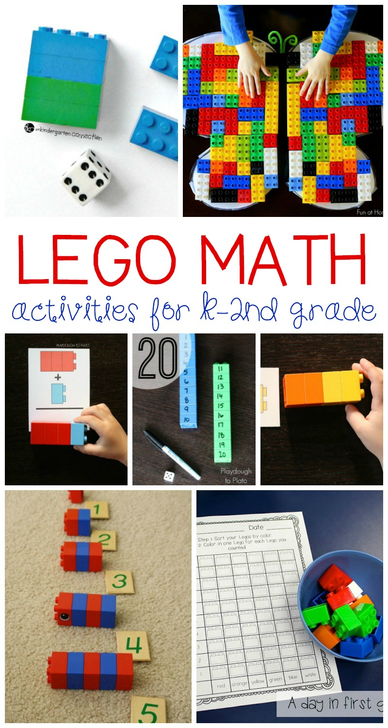 medium resolution of Totally Awesome Lego Math Activities