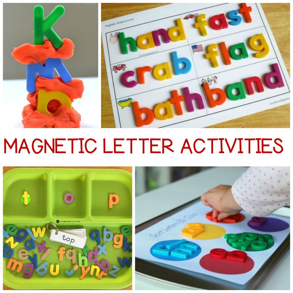 medium resolution of Out of the Box Magnetic Letter Activities Kids Will Love