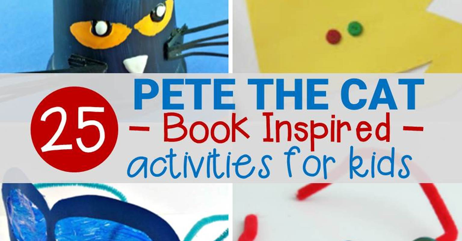 Pete The Cat Activities And Crafts Kids Will Love