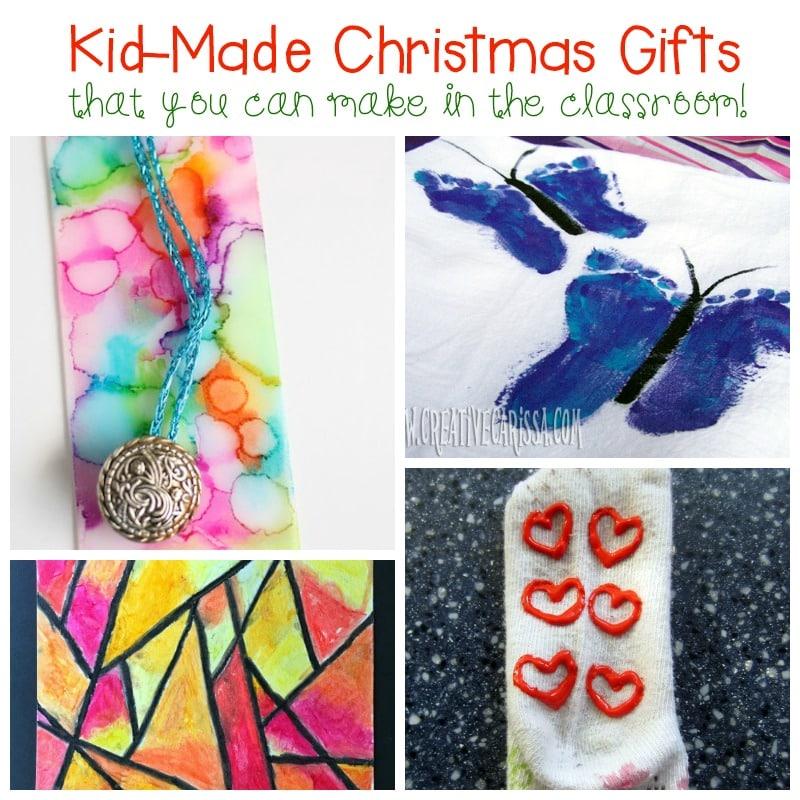 kid made christmas gifts